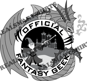 Official Fantasy Geek T-Shirt