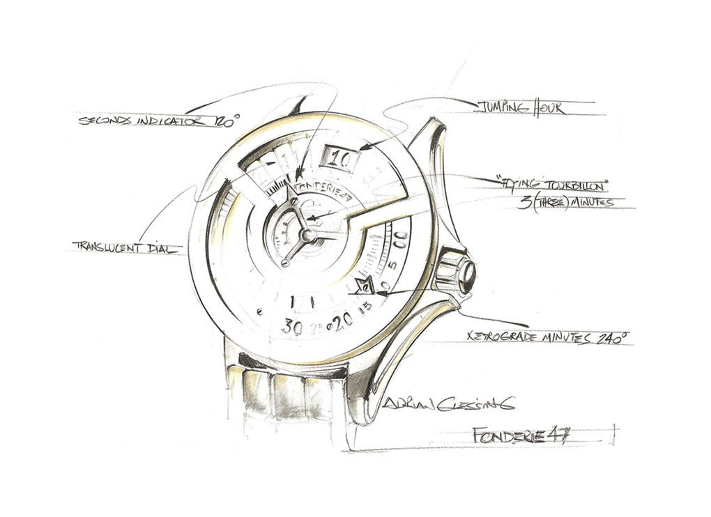 Inversion Principle Timepiece