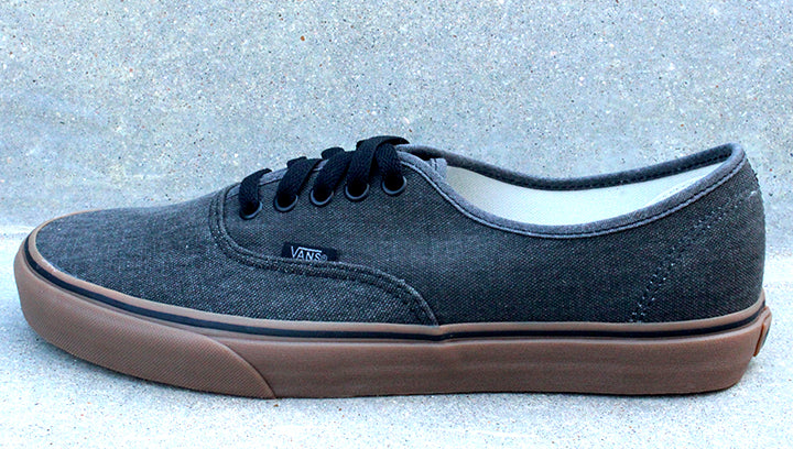 VANS Authentic Washed Canvas Gumsole