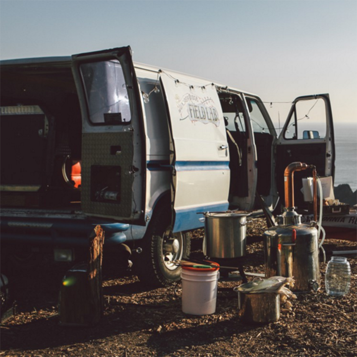 Juniper Ridge Field Lab Van