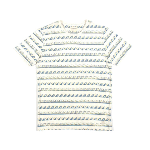 Grecian Waves Pocket Tee Vintage White