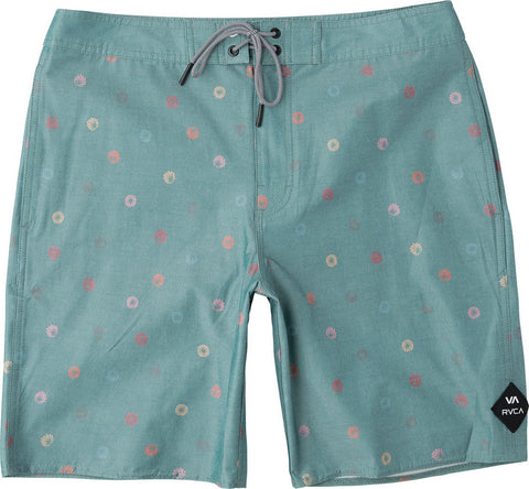 "Lost Vacancy 19"" Printed Trunk, Teal Green"