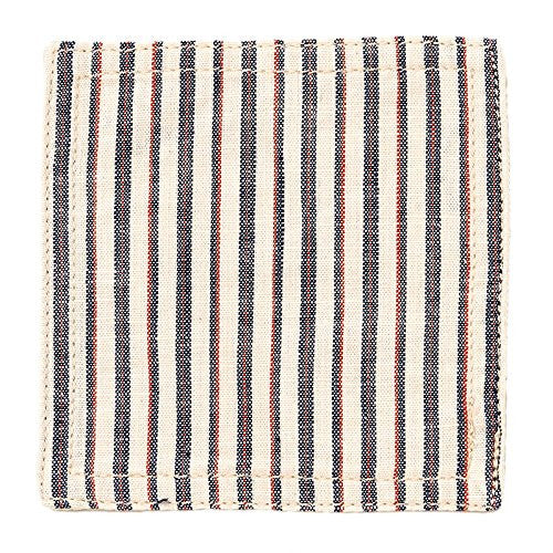 BasShu Weave Assorted Chambray Coasters (set of 6)