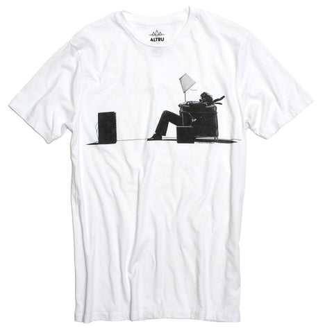 Maxell Blown Away Tee White