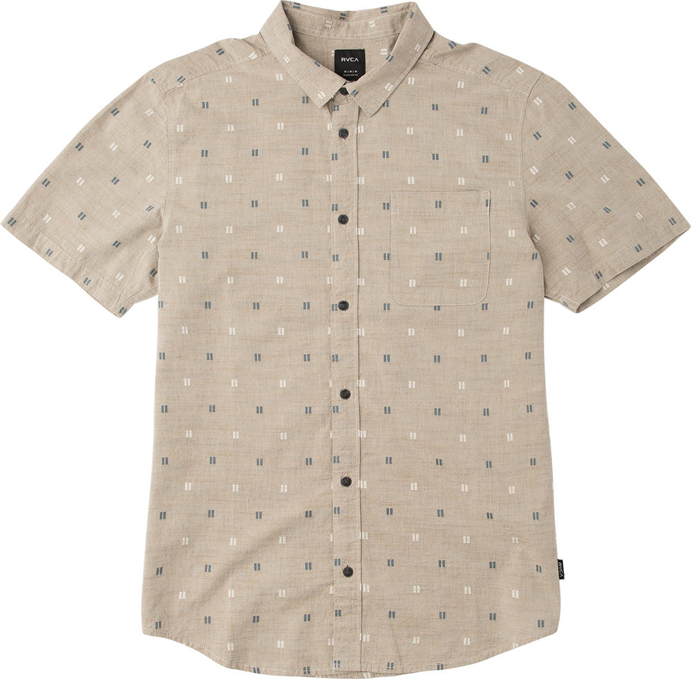 Sons Box Jacquard Button Down Wood