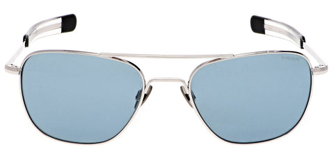 Aviator White Gold - Blue Hydro Lens