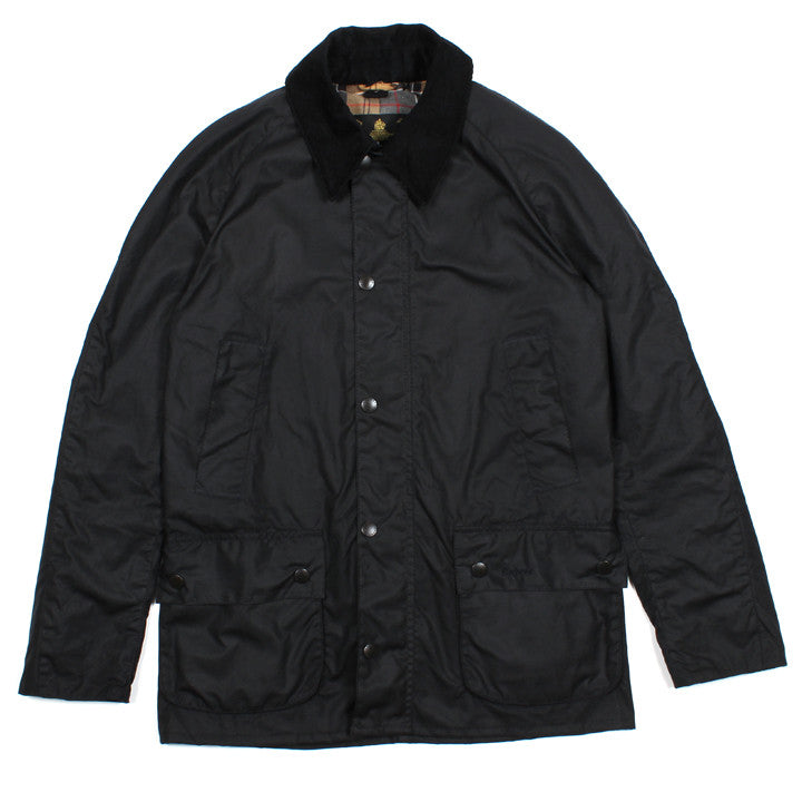 Waxed Ashby Jacket Navy