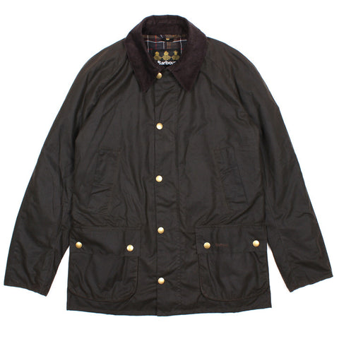 Waxed Ashby Jacket Olive