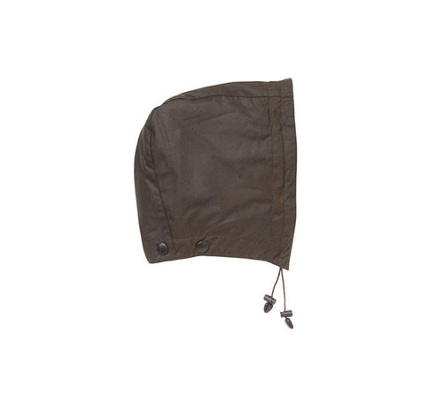 Classic Oil Cloth Latch Hood Olive