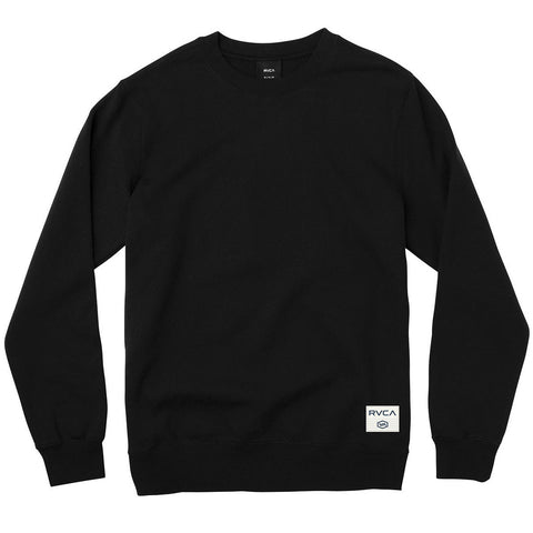 Coastal Patch Fleece Pullover Heather Black