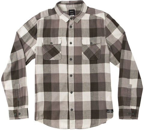 Campbell Bros. Buffalo Plaid Workshirt Pirate Black