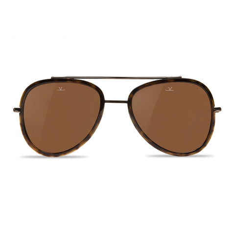 Edge Pilot Tortoise Brown