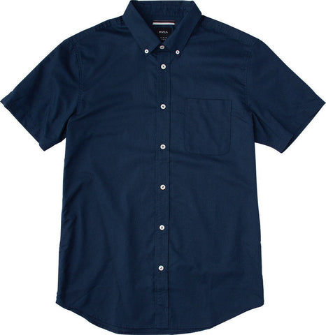 Short Sleeve That'll Do Oxford Federal Blue