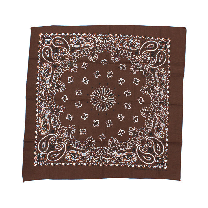 Have-A-Hank Classic Bandana Brown