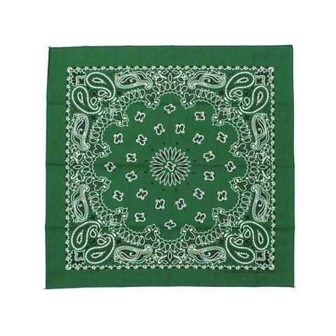 Have-A-Hank Classic Bandana Forest Green