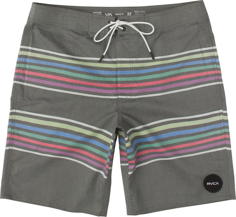 "Islands Rainbow Stripe 19"" Trunk, Faded Black"