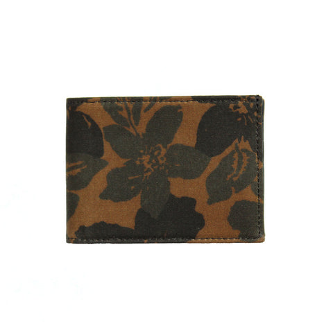 Floral Camo Index Wallet