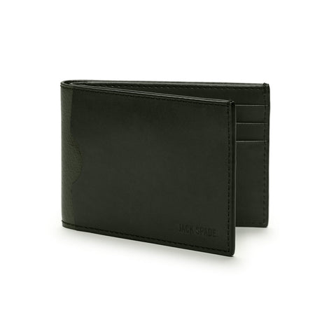 Grant Leather Index Wallet Rosin Green