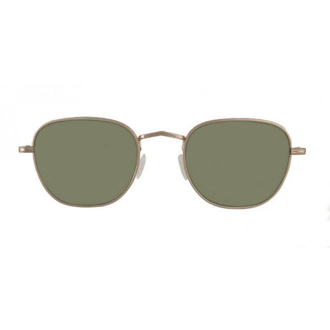 Kibits Sunglasses Gold Green