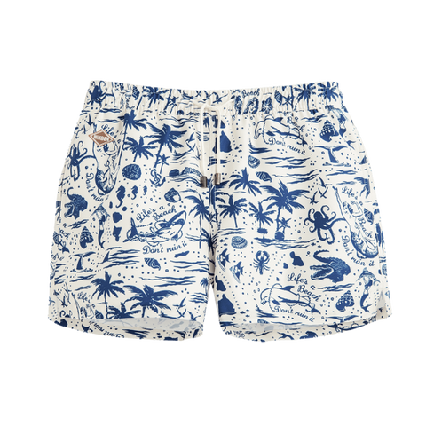 "Life's A Beach 14"" Swim Shorts"