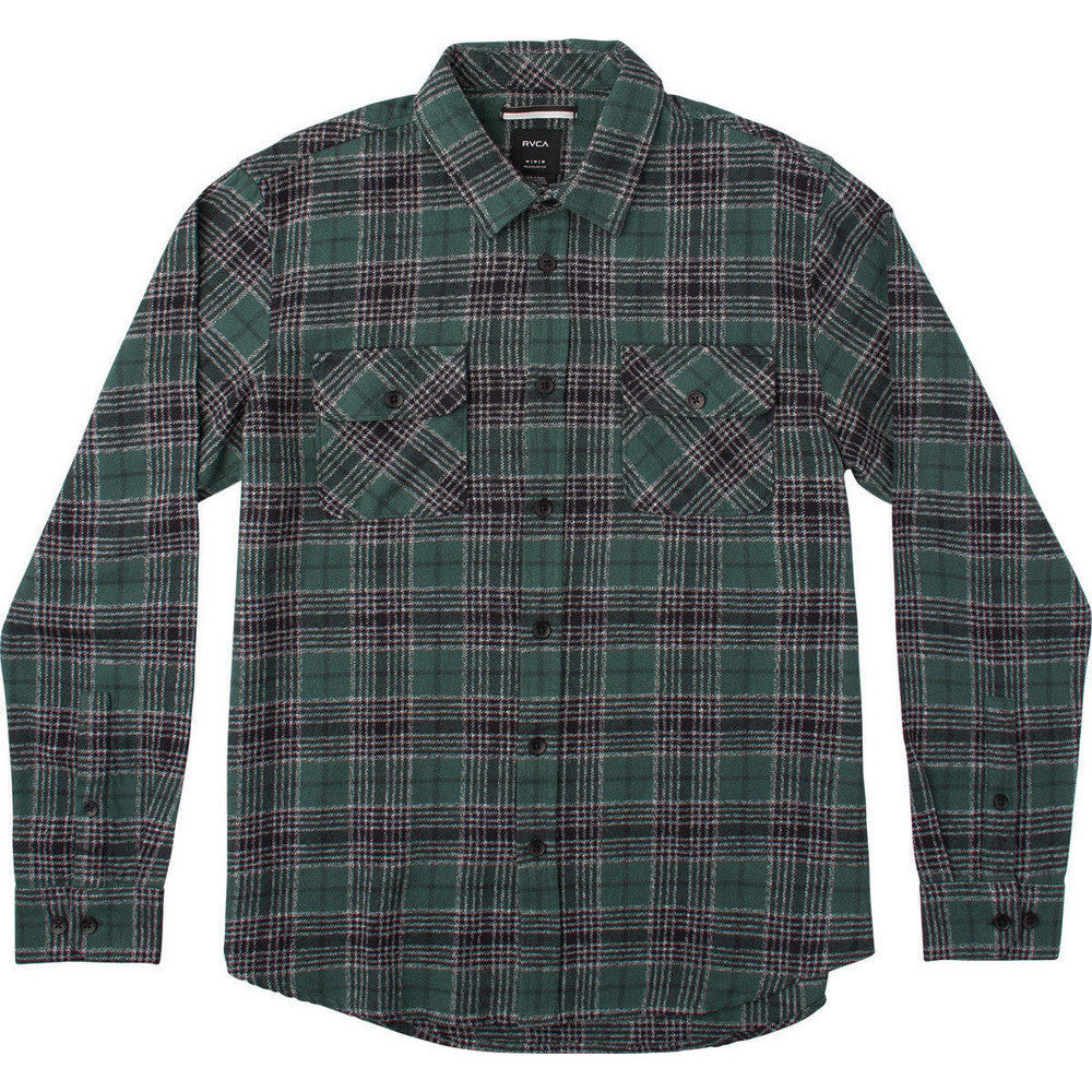 Lowland Long Sleeve Flannel Sequoia Green