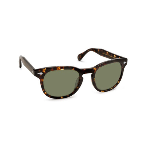 Gelt Sunglasses Dark Havana Tort Green
