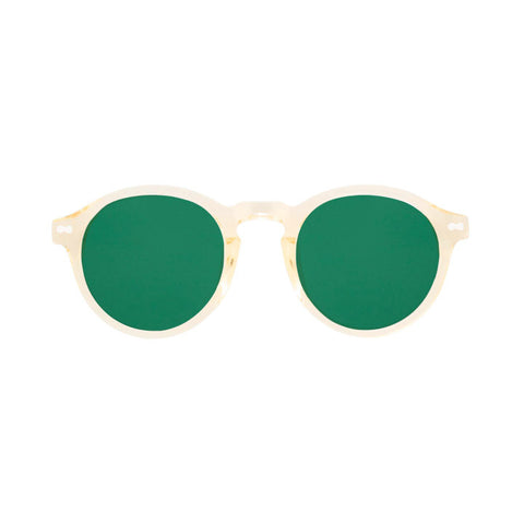 Miltzen Sunglasses Flesh Green