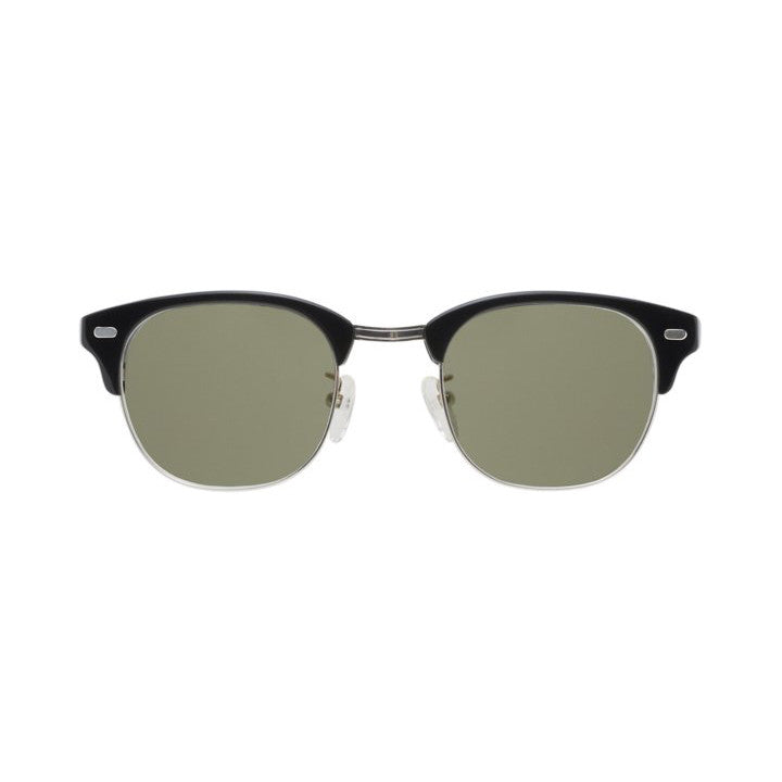 Yukel Sunglasses Silver Black