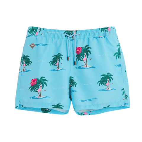 "Magnum Flamingo 14"" Swim Shorts"