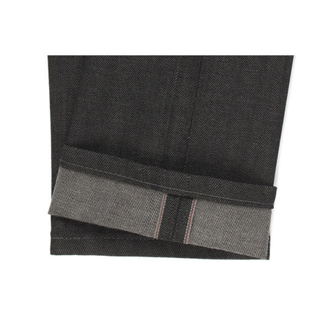 Super Skinny Guy Black x Grey Stretch Selvedge