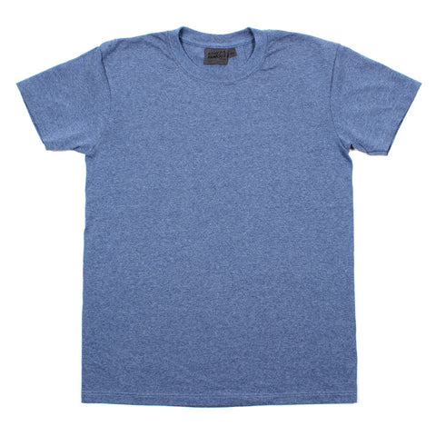 Vintage Circular Knit T-Shirt Heather Blue