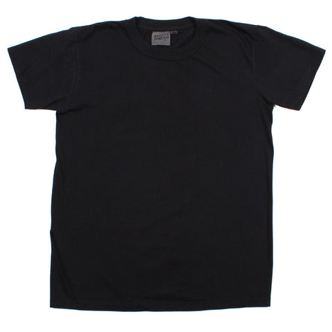 Vintage Circular Knit T-Shirt Black