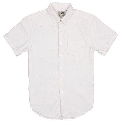 Short Sleeve Shirt Multi-Color Nep White