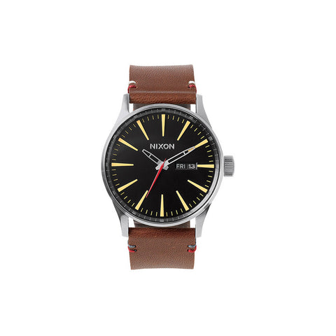 Sentry Leather Black Brown