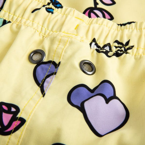 "Peace And Love 14"" Swim Shorts"
