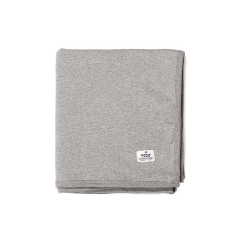 Midweight Twill Terry Blanket Heather Grey