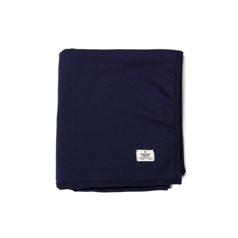 Midweight Twill Terry Blanket Navy