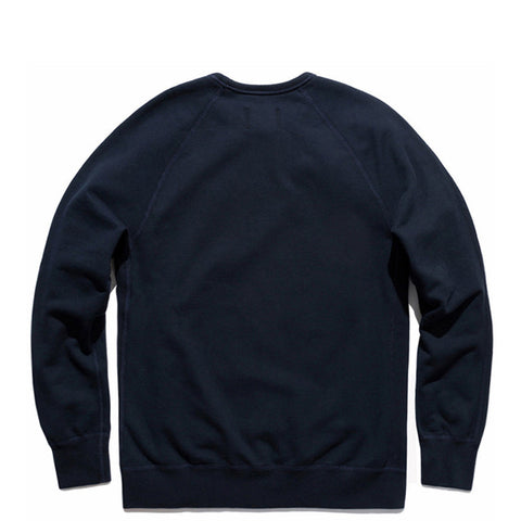 Midweight Twill Terry Crewneck Navy