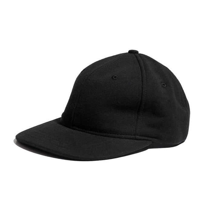 Midweight 6-Panel Cap Black