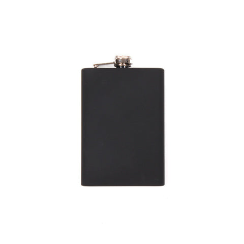 Rubber Dipped Stainless Steel Flask With Funnel