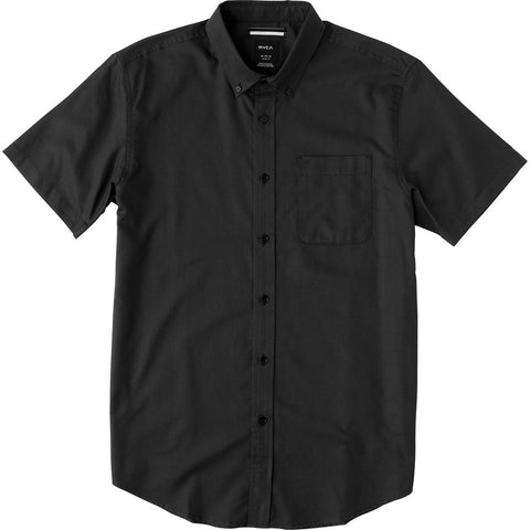 Short Sleeve That'll Do Oxford Pirate Black