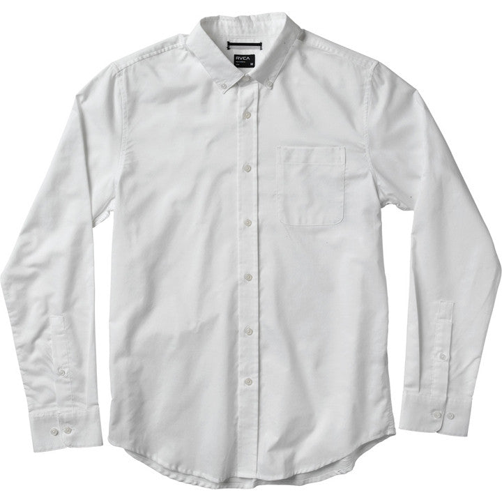 That'll Do Oxford Shirt White