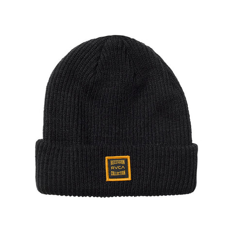 Recession Collection Beanie Black