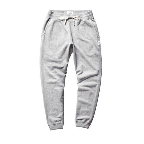 Slim Midweight Twill Terry Sweatpant Heather Grey