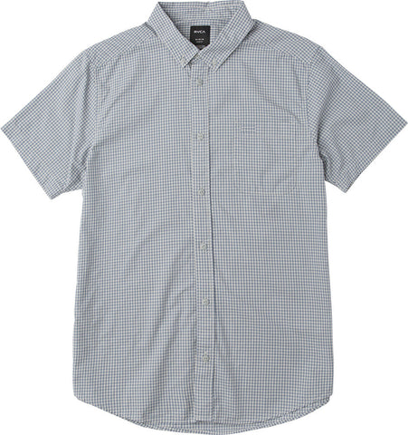Staple Yarn Dye Plaid Button Down Blue/Grey