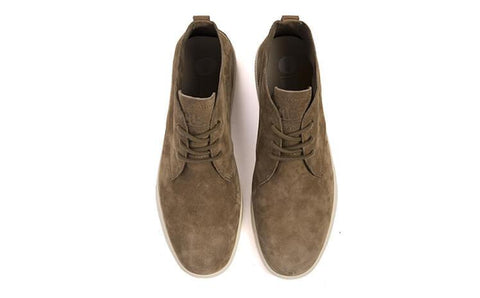 Strayhorn Unlined Chukka Wheat Pig Suede