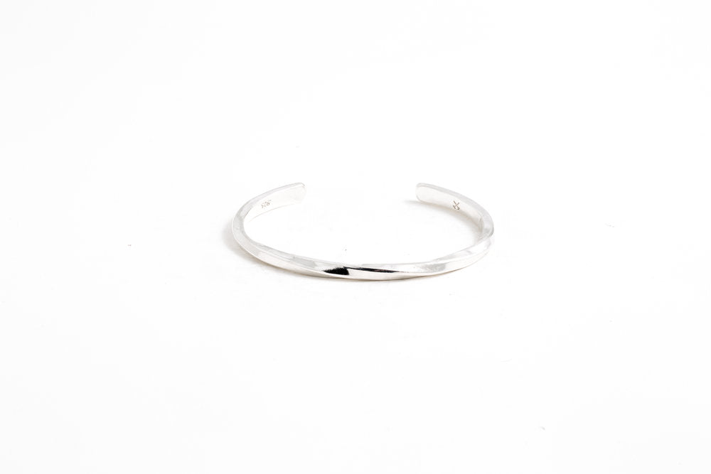 Studebaker Cuff - Polished Sterling Silver