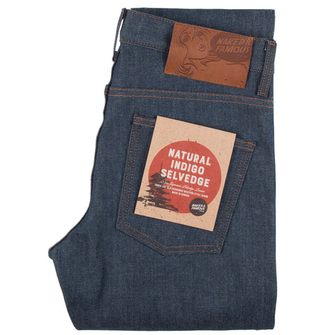 Super Guy Natural Indigo Selvedge