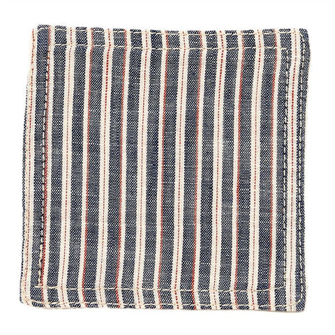 BasShu Weave Tricolor Stripe Coasters (set of 6)