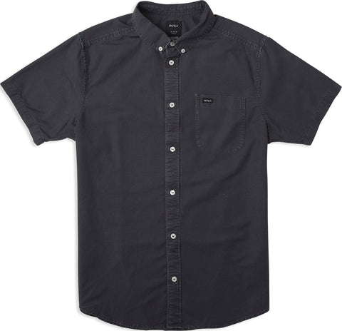 Short Sleeve That'll Do Butter Oxford - Lead